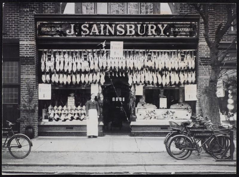 SA/BRA/7/B/45/1 - Image of West Byfleet [18 Rosemount Parade] store, Christmas 1927