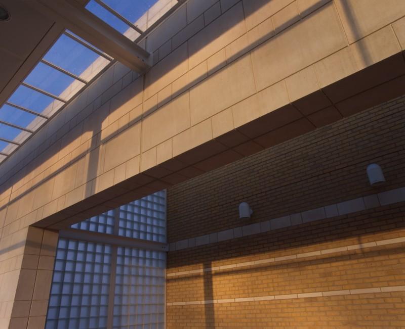 SA/BRA/7/B/46/2/103 - Image of detail of building at Oxford Road, Banbury branch