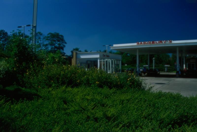 SA/BRA/7/B/46/2/4 - Image of the petrol station at Oxford Road, Banbury branch