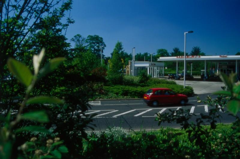 SA/BRA/7/B/46/2/7 - Image of the petrol station at Oxford Road, Banbury branch