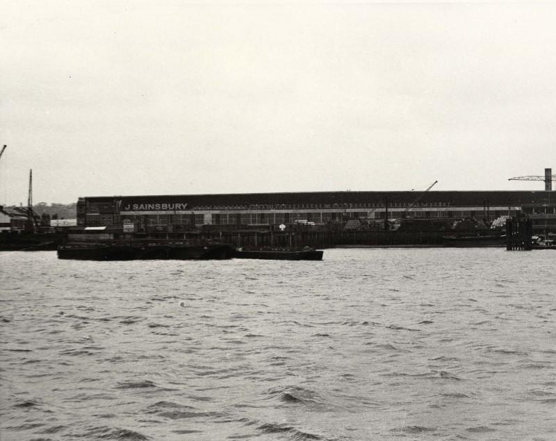 SA/DEP/4/6/23 - Photograph of Charlton Depot from across the river