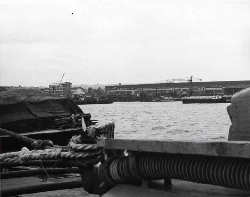 SA/DEP/4/6/7 - Photograph of Charlton Depot from across the river