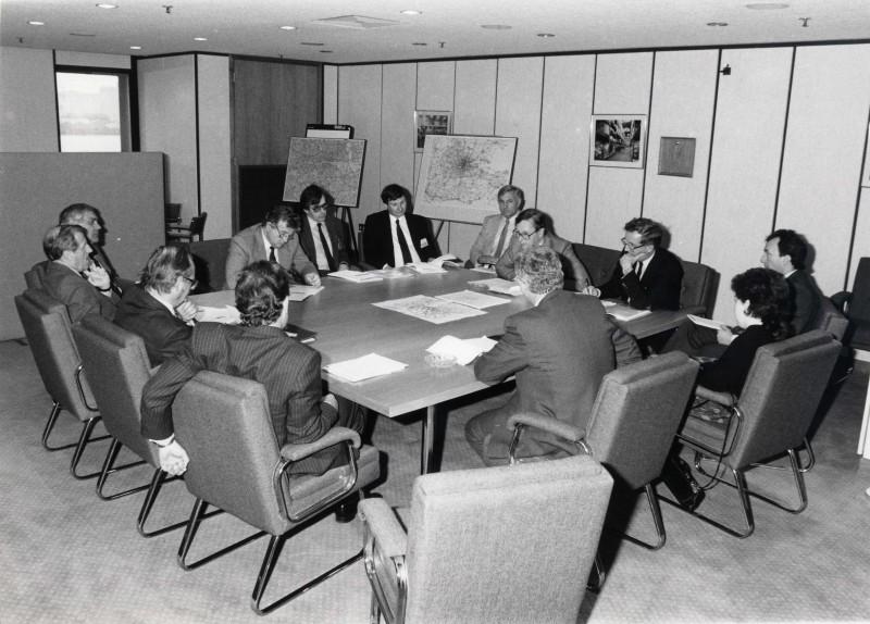 SA/DEP/4/6/8 - Photograph of Charlton Depot - MPs visit