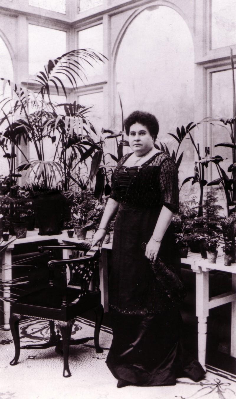 SA/FAM/1/IMA/1/8 - Photograph of Mary Ann Sainsbury, c. 1895