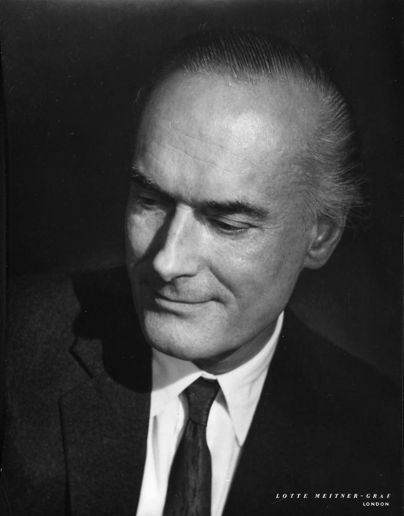 SA/FAM/15/9/1 - Portrait photograph of James Sainsbury by Lotte Meitner-Graf