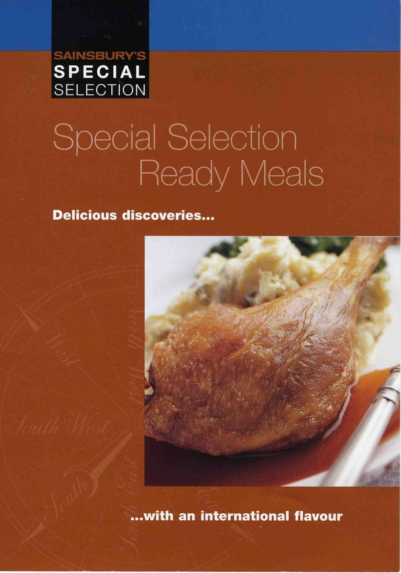 Sainsbury S Special Selection Special Selection Ready Meals