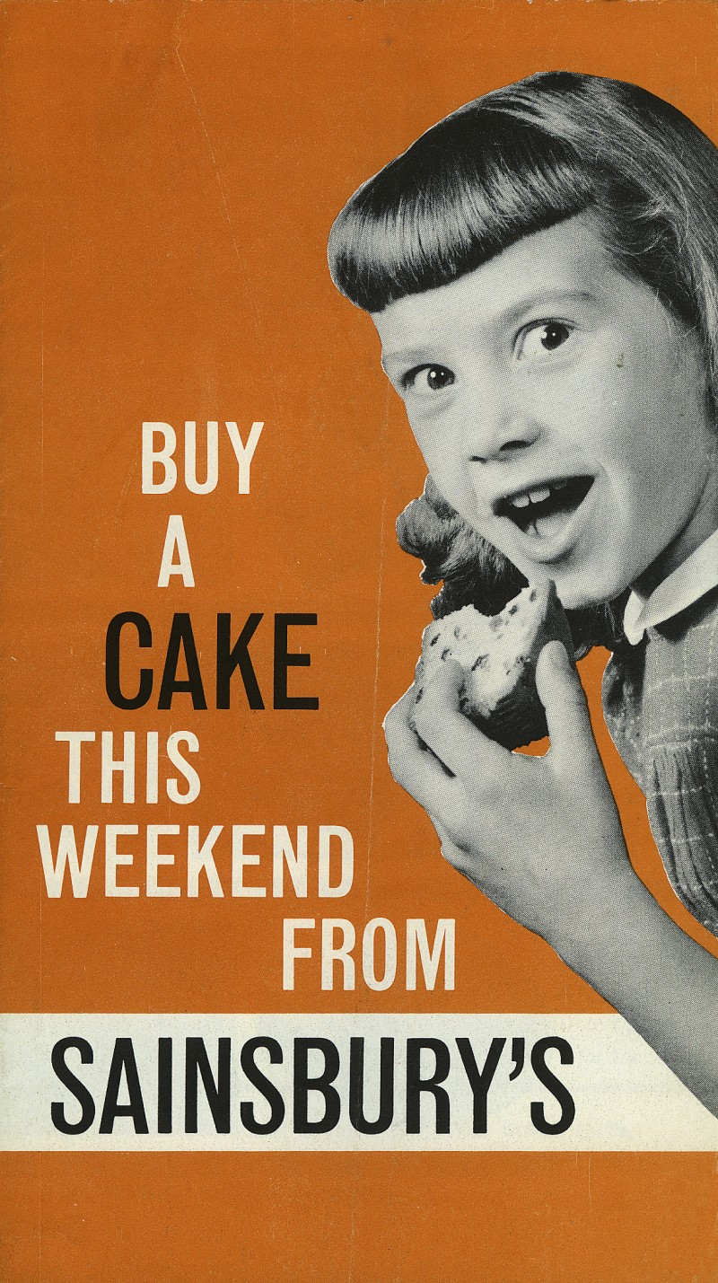 "SA/MARK/ADV/3/2/1/10/1/2/1 - ""Buy A Cake This Weekend From Sainsbury's"""