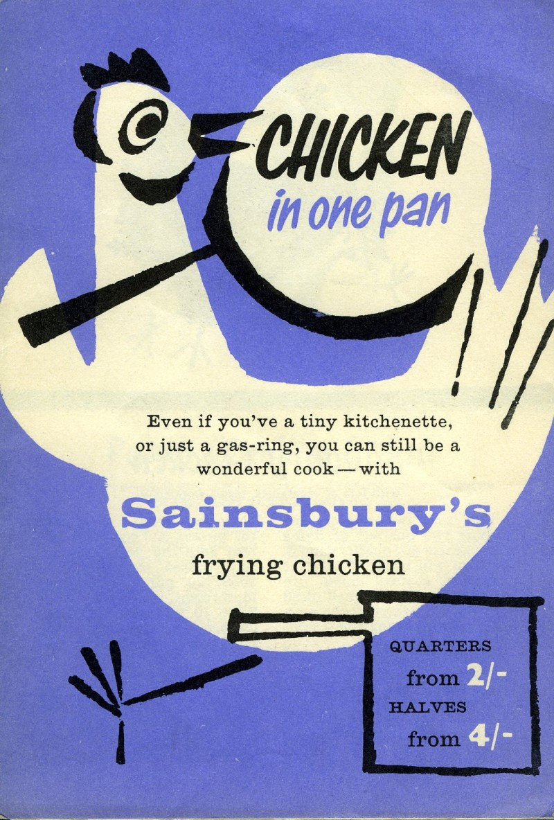 SA/MARK/ADV/3/2/1/17/1/2/4 - 'Chicken in one pan' leaflet