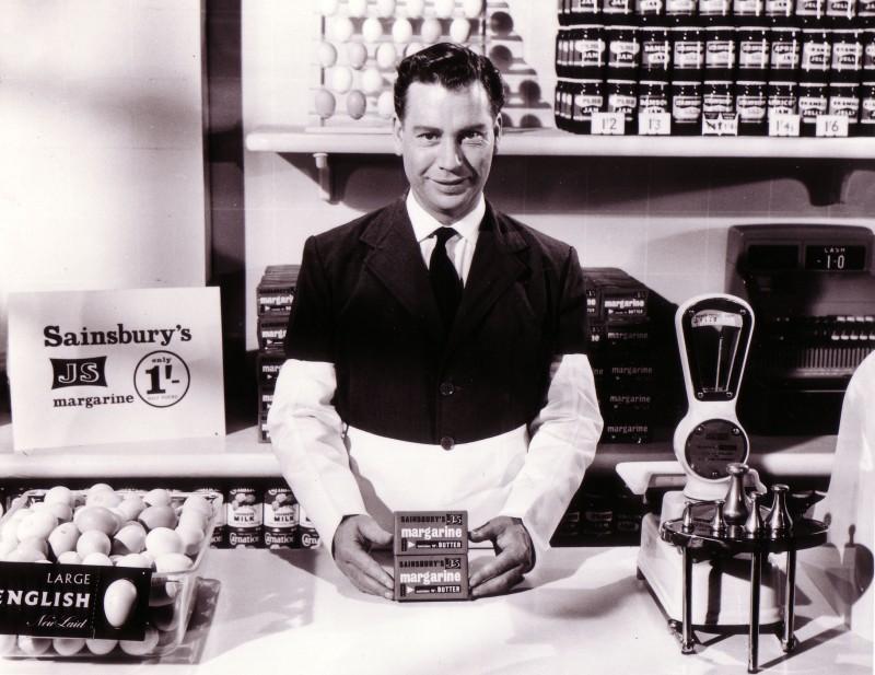 SA/MARK/ADV/IMA/1/7/1 - Image from a Sainsbury's television commercial, 1958