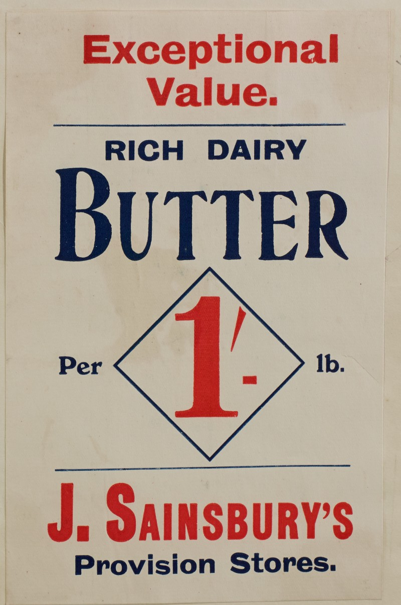 SA/MARK/ADV/1/1/1/1/1/6/1/60 - Advert for Rich Dairy butter, 1910