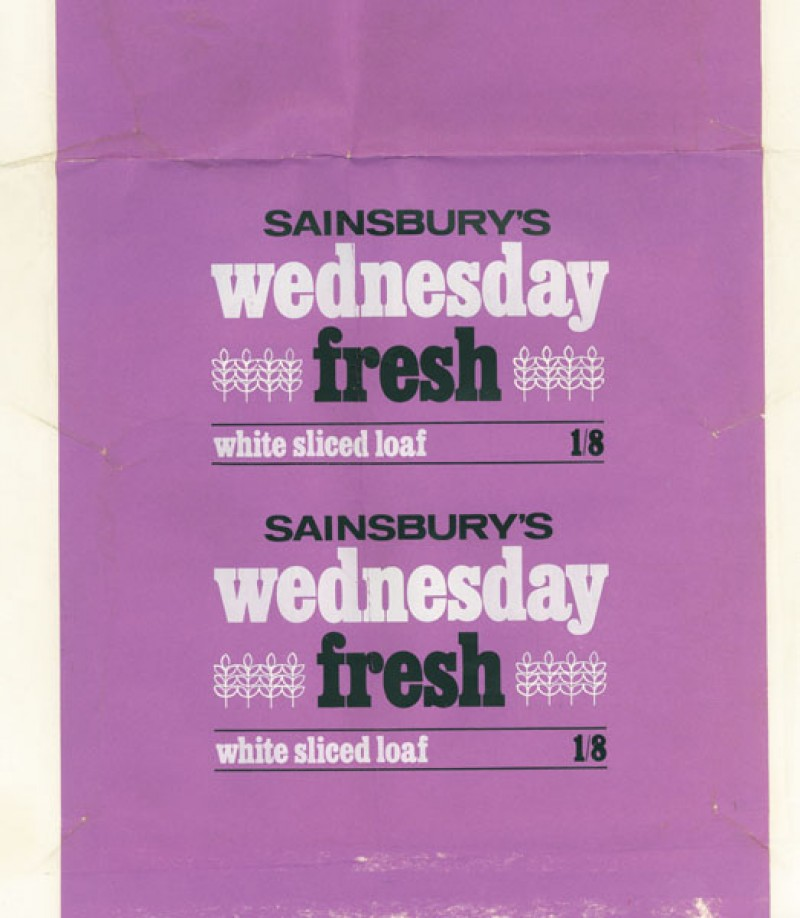 SA/PKC/PRO/1/1/2/1/1/23 - Sainsburys's Wednesday Fresh White Sliced Loaf packaging