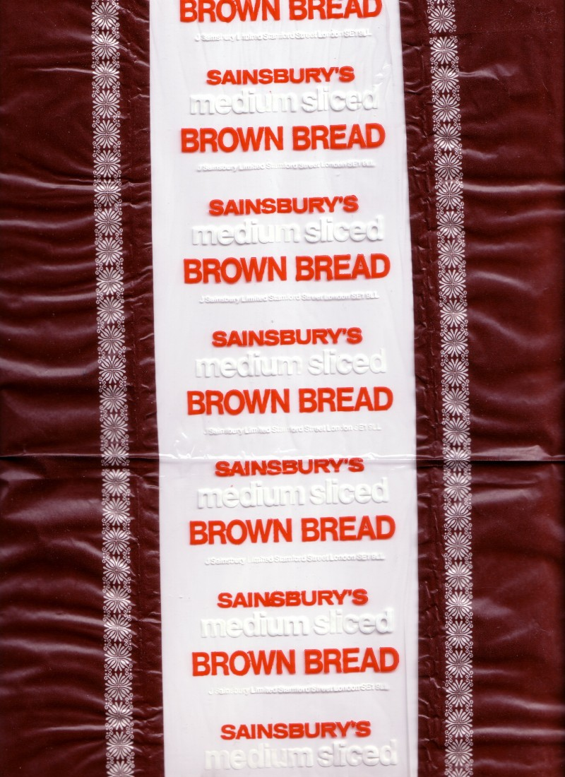 SA/PKC/PRO/1/1/2/1/2/1 - Sainsbury's Medium Sliced Brown Bread packaging