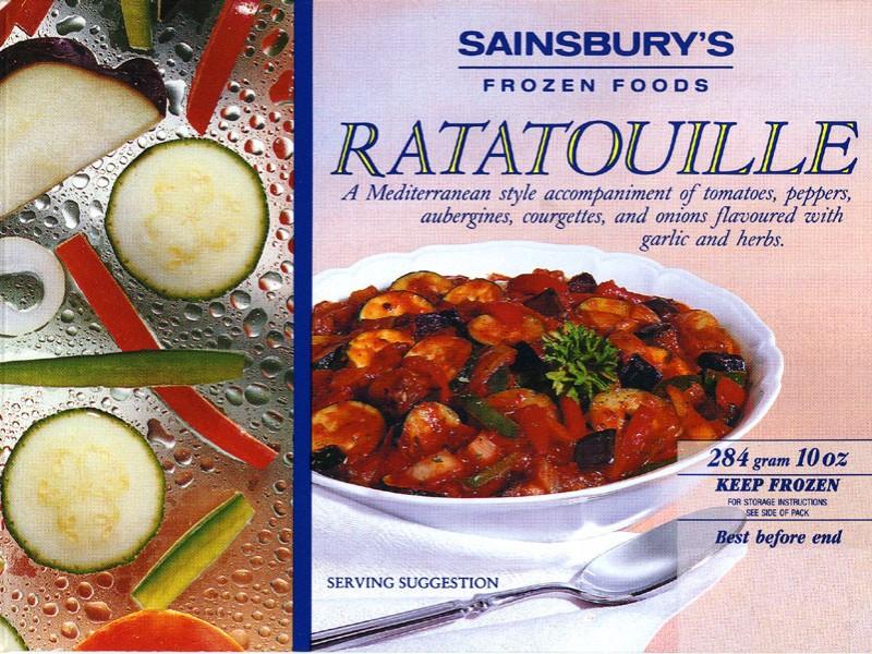 SA/PKC/PRO/1/10/2/2/12 - Sainsbury's ratatouille packaging