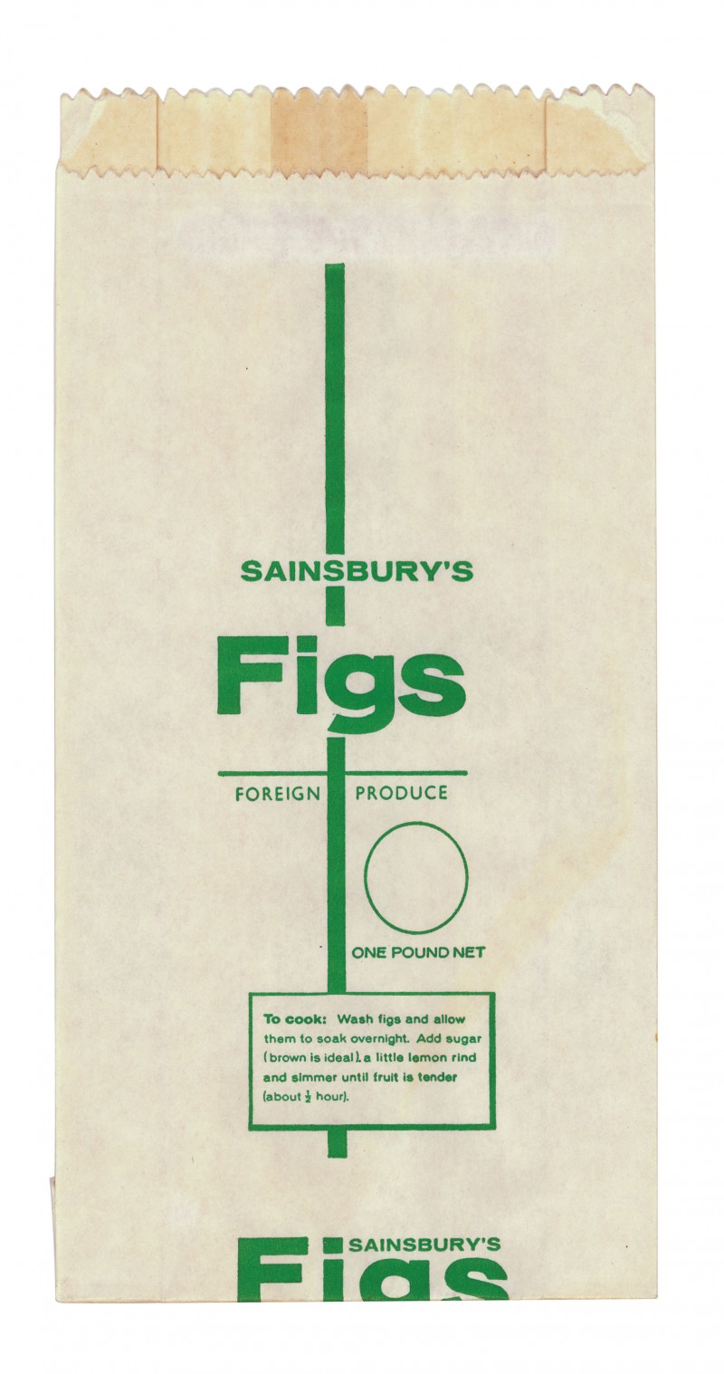 SA/PKC/PRO/1/14/2/2/142/1 - Sainsbury's Figs paper bag