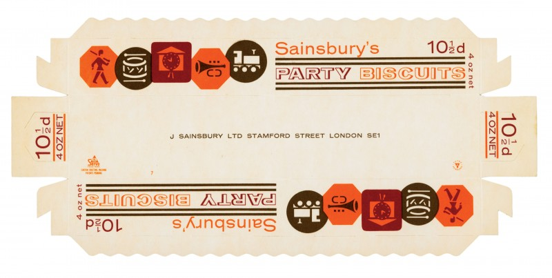 SA/PKC/PRO/1/2/2/1/50/1 - Sainsbury's Party Biscuits packet