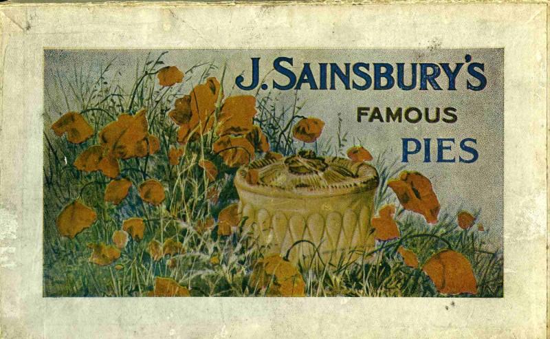 SA/PKC/PRO/1/5/3/1 - J. Sainsbury's Famous Pies box lid