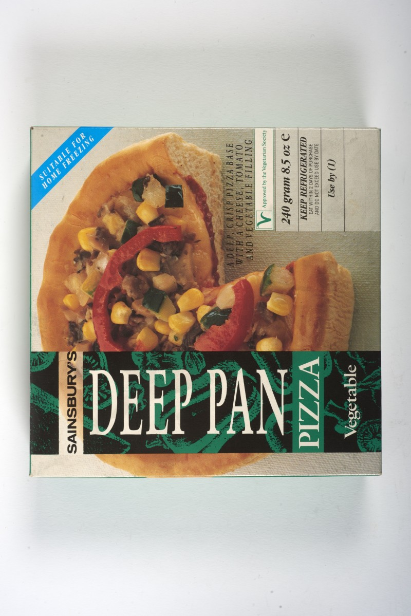 Sainsburys Deep Pan Pizza Vegetable Box Sapkcpro1103