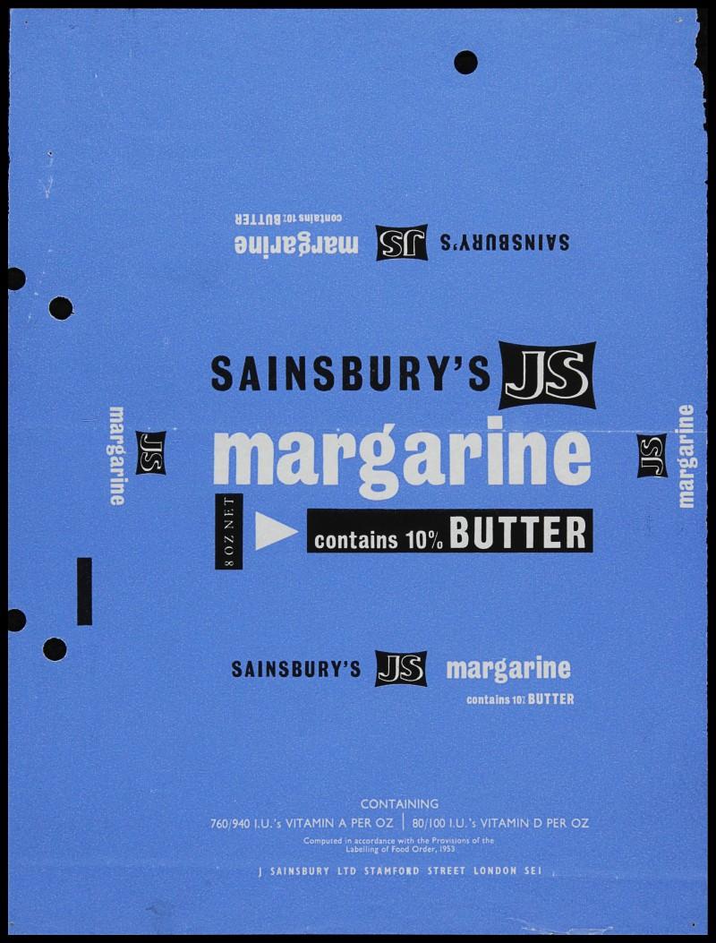 SA/PKC/PRO/1/6/2/1/3/2/1 - Sainsbury's JS Margarine packaging