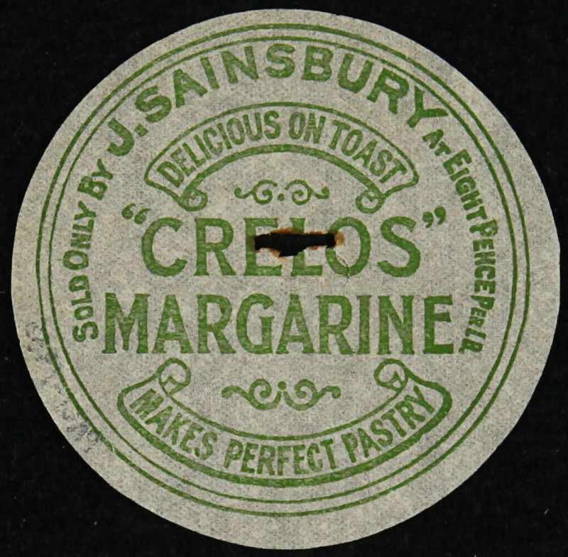 SA/PKC/PRO/1/6/2/1/3/5 - Crelos Margarine packaging