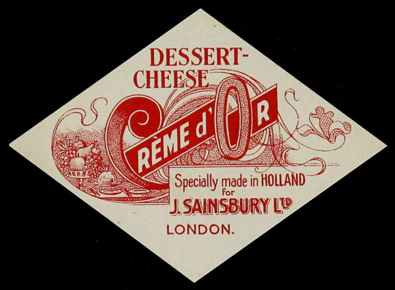 SA/PKC/PRO/1/6/2/2/7 - Creme d'Or Dessert Cheese label