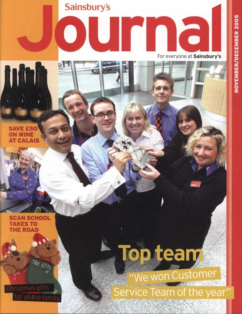 SA/SC/JSJ/59/9 - 'Sainsbury's Journal' November- December 2005